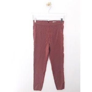 urban outfitters / ingrid polka dot high rise pant